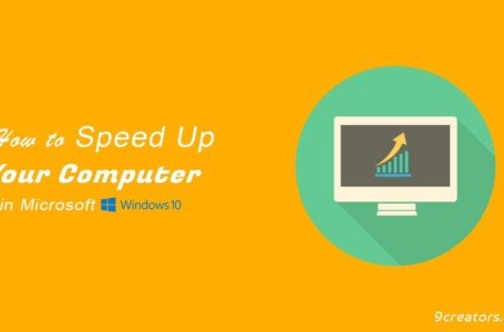 Speed Up Your Computer – 5 Easy Steps